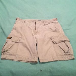 Gray Polo Jeans Ralph Lauren Cargo Shorts